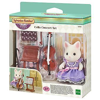 Les familles sylvanian Concert violoncelle Playset