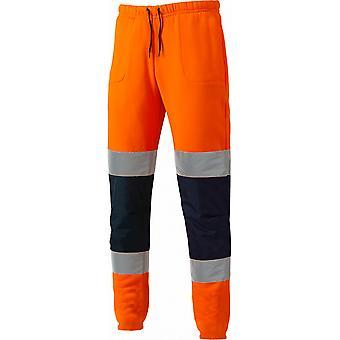 Dickies Herren Hi-Vis Polyester reflektierende Jogger Sicherheit Hose