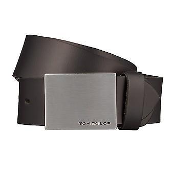 TOM TAILOR пояса кожаные ремни мужские ремни мужские кожаные ремни Браун 1231