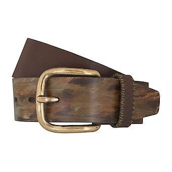 LLOYD bälte bälten mäns bälten läderbälte brunt 5355