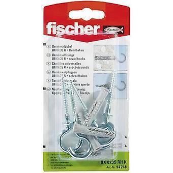 Fischer UX 6 x 35 RH K Universal pluggen 35 mm 6 mm 94248 4 dator