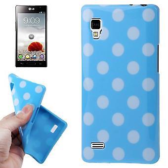 Protection points TPU cas d'affaire pour mobile LG Optimus L9 / P760