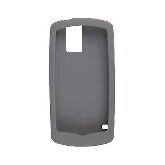 5 Pack -BlackBerry Rubberized Skin for BlackBerry Pearl 8100, 8100c, (Pale Gray)