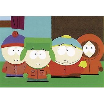 Ragazzi di South Park poster quattro in piedi (orizzontale)
