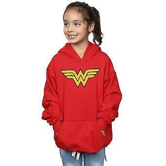 DC Comics Девушки Wonder женщина логотип капюшоном