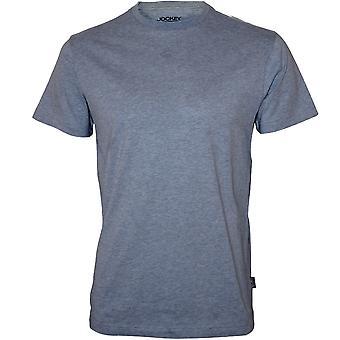 Jockey Jersey bomuld Crew-Neck T-Shirt, blå
