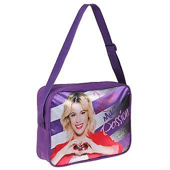 Violetti olka laukku Messenger laukku 35x25x10cm violetti