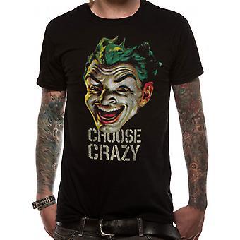 Batman 1966 - Vælg Crazy (Unisex) T-Shirt