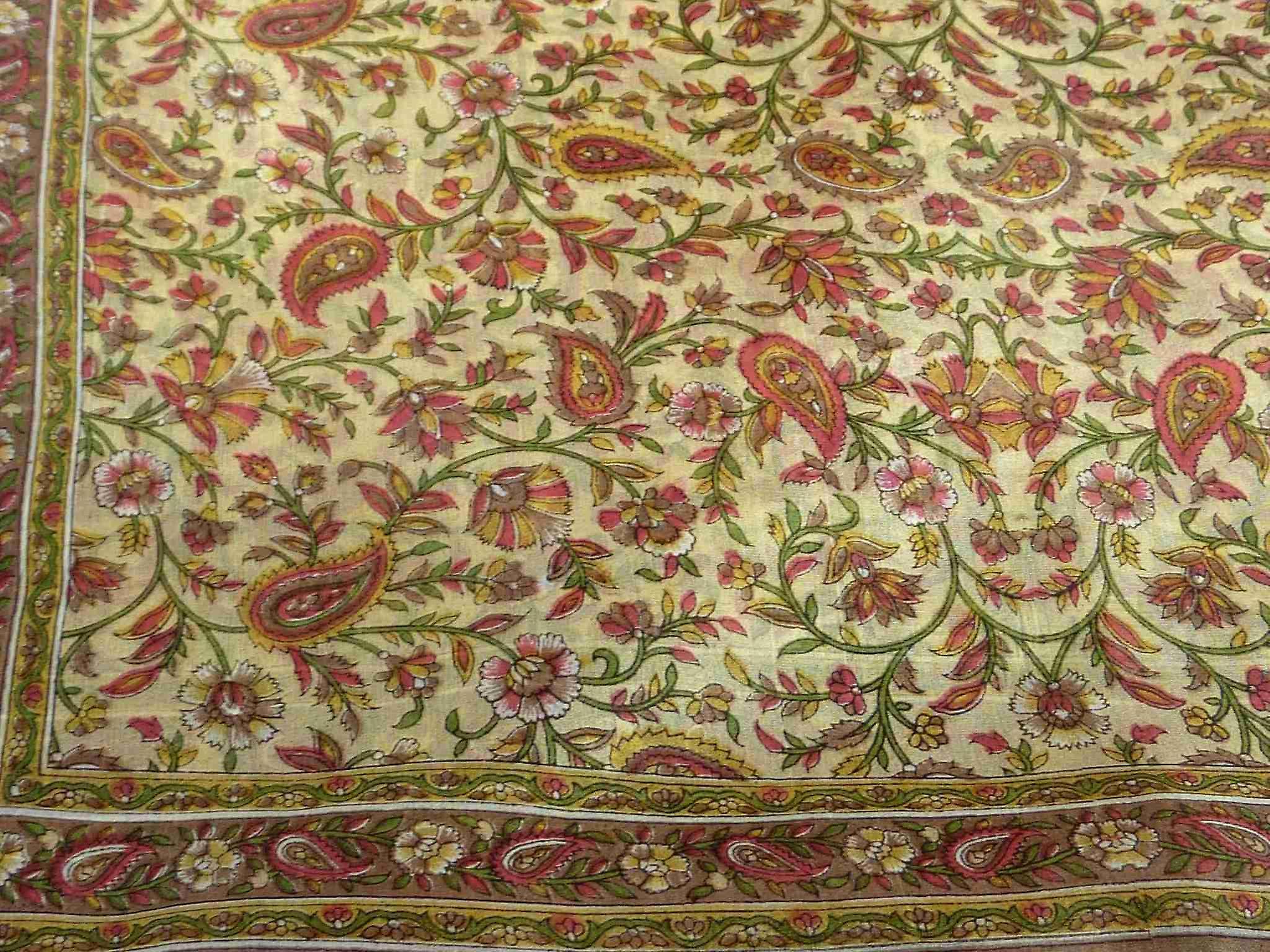 Mulberry Silk Traditional Long Scarf Zain Caramel by Pashmina & Silk
