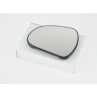 Venstre passager spejlglas (ikke opvarmet) & holder til PEUGEOT 308 CC 2009-2017