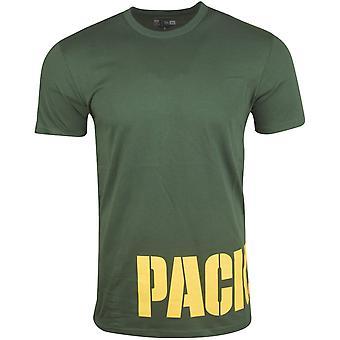 Camiseta NFL de nueva era - abrigo de Green Bay Packers verde