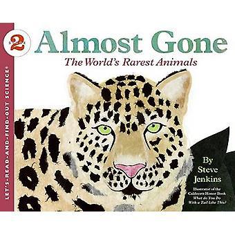 ذهب تقريبا--أندر الحيوانات في العالم بواسطة ستيف جنكينز--ستيف جينك
