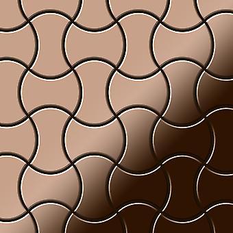 Metal mosaic Titanium ALLOY Infinit-Ti-AM