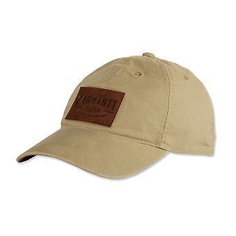 Carhartt men's Cap Rigby leatherette patch
