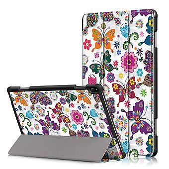 Custodia pieghevole per Lenovo Tab P10-Butterflies