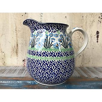 Jug, 1 l, height 16 cm, forget me not, BSN J-1815