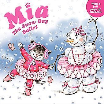 Mia: Snö dag baletten [med Sticker(s)]