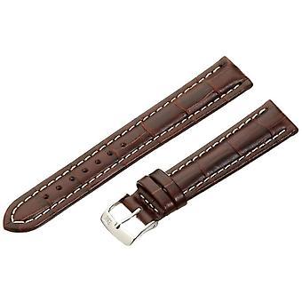 Morellato lederen armband 18 mm bruin PLUS A01U3252480032CR18 man