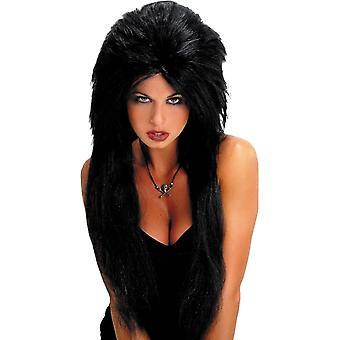Black Vampiress Wig For Halloween