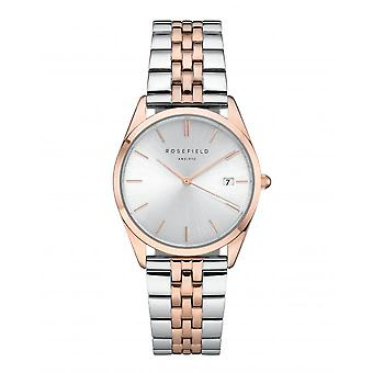 Watch Rosefield ACSRD-A06 - shows The Ace silver and Rose Gold woman