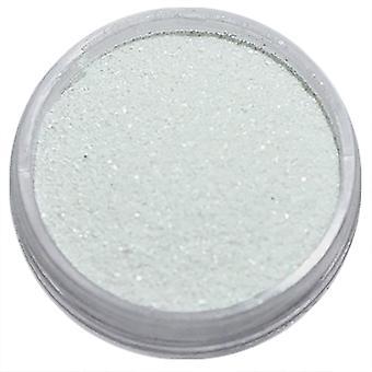 1pcs feinkörnigen Glitzer weiß matt