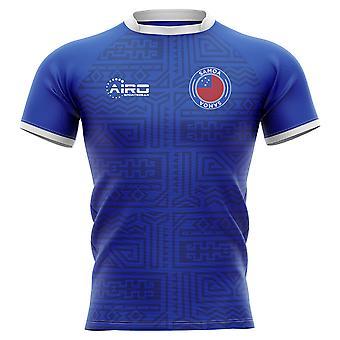 2020-2021 Samoa Home Concept Rugby Shirt - Erwachsene Langarm