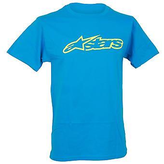 Alpinestars Herren T-Shirt ~ Blaze Classic Türkis/Vis