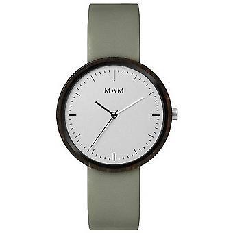 MAM Plano Watch - Mint Green/White