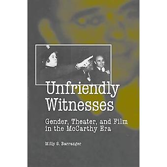 Témoins inamicaux-genre-théâtre-et film à l'ère McCarthy