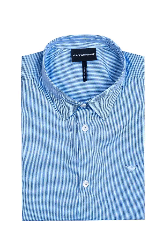 Emporio Armani Business-Regular Collar Shirt 8N1C10 1N06Z