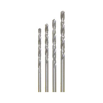 4 x HSS drill bit Ø 1.2-1.4 1.6-1.8 mm in SB can