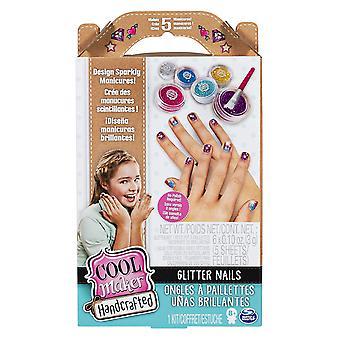 Cool Maker-håndlavede glitter negle aktivitetssæt