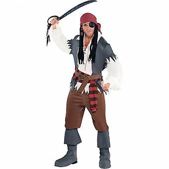 Men Buccaneer Adult Costume