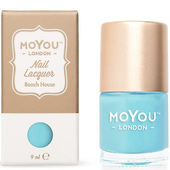 MoYou London Stamping Nail Lacquer - Beach House 9ml (MN019)