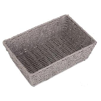 Extra Large Grey Paper Rope Serving Tray