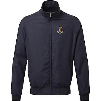 Green Howards Colour-lisensiert britiske hæren brodert Harrington Jacket