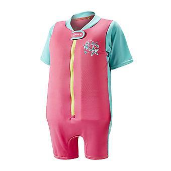 Speedo sjø patrulje spedbarn Junior jenter flyte svømming svømme drakt rosa