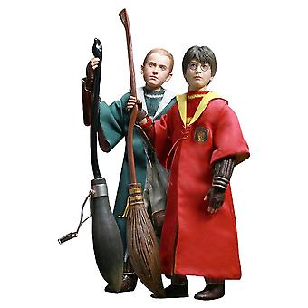 "Harry Potter Harry & Draco Quidditch 12 ""1:6 rys Twin PK"