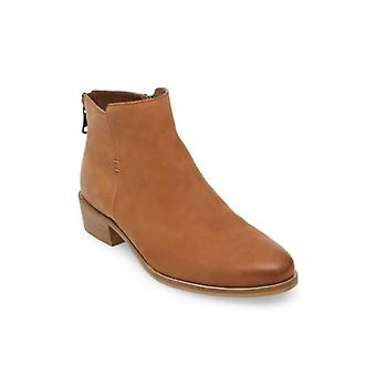 Steve Madden Womens Baylor Leather Almond Toe Ankle Fashion Boots
