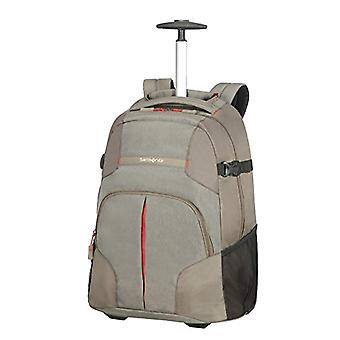 Samsonite Rewind - Laptop Backpack with Unisex Wheels - Grey (Taupe) - 32.5 liters - XL (55cm-32.5L)
