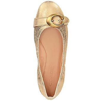 Coach Womens Stanton ballet leer gesloten teen casual dia sandalen