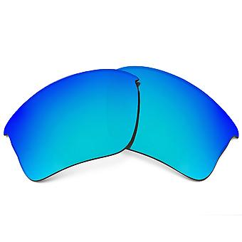Polarized Replacement Lenses for Oakley Flak Jacket XLJ Frame Blue Anti-Scratch Anti-Glare UV400 by SeekOptics