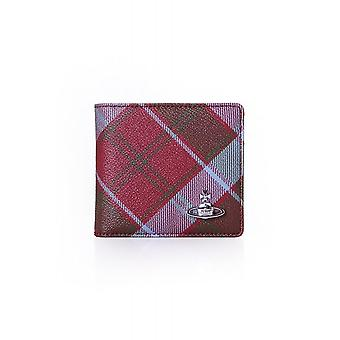 Vivienne Westwood Bags Tartan Wallet With Coin Pocket