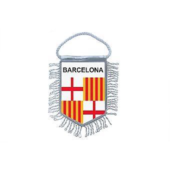 Flag Mini Flag Country Country Car Remembrance Blason Spain Barcelona Barcelona