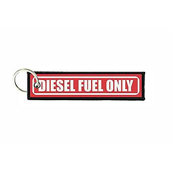 Porte cles aviation keychain voiture carburant diesel fuel only r3