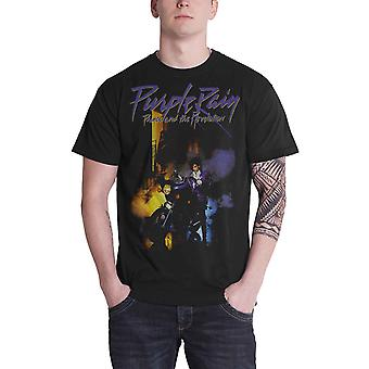 Prince T Shirt Purple Rain Prince and the revolution new Official Mens Black