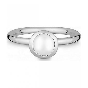 Quinn - Silver Ring with Moonstone - 02183269
