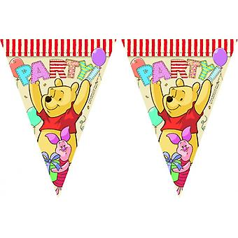 Disney's Winnie the Pooh Party Flaggirlang ( Vimpelgirlang - France Fanion