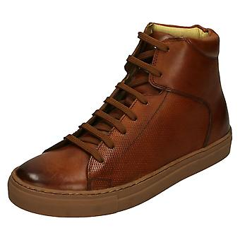 Hombre base Londres Casual High Top Zapatos Jarrett