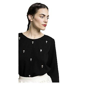 Grace and Mila Mardi Hot Air Balloon Embroidery Blouse